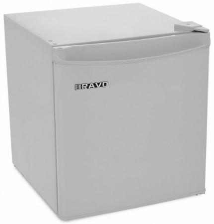 Холодильник BRAVO XR-50 серебристый минихолодильник bravo xr 50 s серебристый