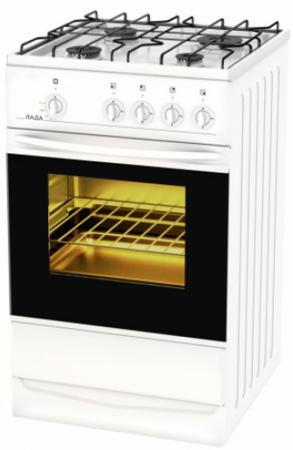 Газовая плита Лада PR 14.120-03.1 белый лада питер