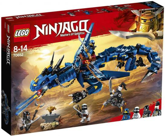 Конструктор LEGO Ninjago Вестник бури 493 элемента 70652 конструктор lego ninjago вестник бури 70652