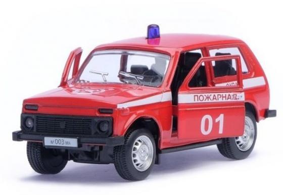 Пожарная машина Автопанорама Пожарная охрана красный 1200048 цены