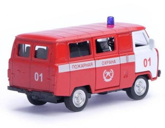 Пожарная машина Автопанорама Пожарная охрана красный 1200054 playmobil береговая охрана машина первой помощи