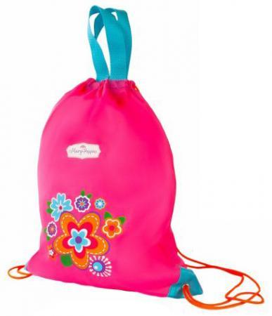 Мешок-рюкзак Mary Poppins Цветы розовый 530037 мешок для обуви mary poppins с ручками цветы