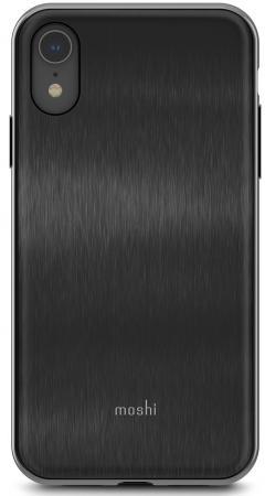 Накладка Moshi iGlaze для iPhone XR чёрный 99MO113001 клип кейс moshi iglaze для apple iphone xr черный