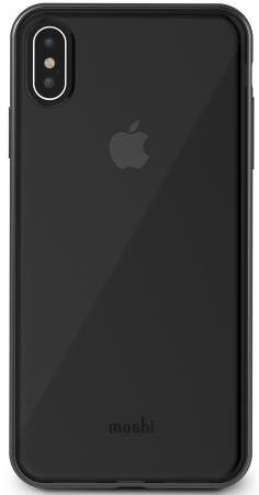 Чехол Moshi Vitros для iPhone XS Max пластик прозрачный черный 99М0103035 moshi ivisor ag в москве