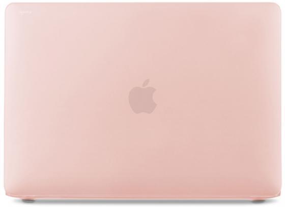 Чехол Moshi iGlaze Pro для MacBook Pro 13 (2016) (без Touch Bar), материал пластик, цвет розовый накладка moshi для клавиатуры macbook pro 13 15 с touch bar