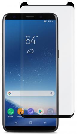 Защитное стекло Moshi IonGlass для Samsung Galaxy S9. Цвет черный. аксессуар защитное стекло для samsung galaxy s9 sd845 svekla zs svsgsd845
