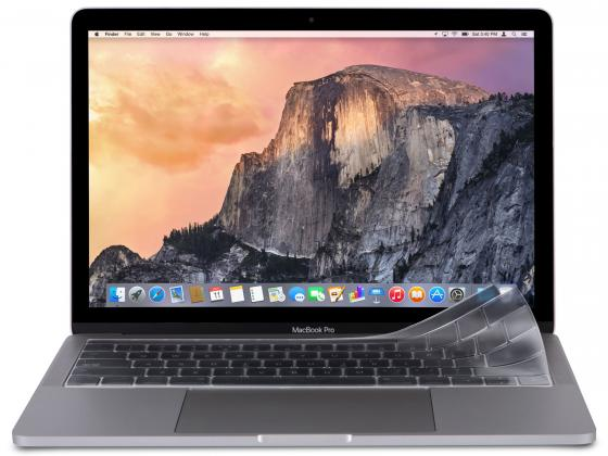 Защитная накладка MacBook Pro 13 Moshi ClearGuard полиуретан прозрачный 99MO021912 накладка moshi для клавиатуры macbook pro 13 15 с touch bar