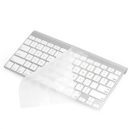 Купить Защитная прорезиненная накладка Ozaki O!macworm на клавиатуру для iMac (Европейская версия)., Накладка, прозрачный