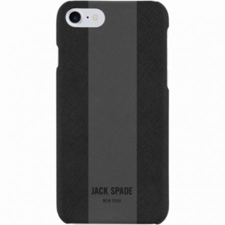 Накладка Jack Spade Snap Case для iPhone 7 Plus iPhone 8 Plus чёрный серый JSIPH-025-BLMG 6 3mm female spade crimp terminal connector set w waterproof covers silver 50 pcs