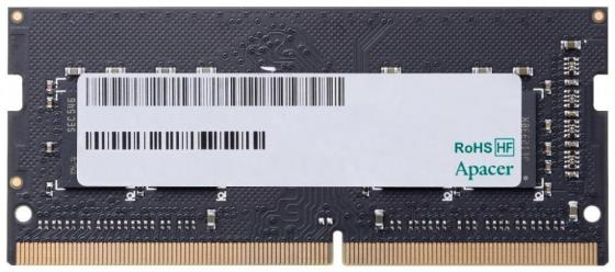 Оперативная память для ноутбука 8Gb (1x8Gb) PC4-19200 2400MHz DDR4 SO-DIMM CL17 Apacer ES.08G2T.GFH