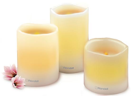 все цены на Набор свечей Rondell RDP-803 3 шт онлайн