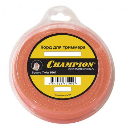 Корд трим. CHAMPION C5055 Square Twist DUO 2.0мм 15м витой квадрат корд трим champion square twist duo 3 0мм 168м витой квадрат