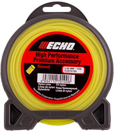 Корд для триммеров ECHO Traditional Round C2070100 2.0мм*15м, круглый ковролин ideal echo 932 3м