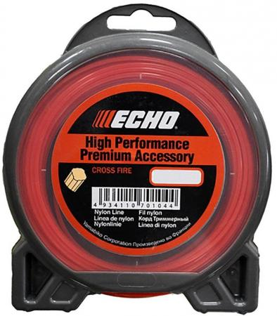Леска для триммеров ECHO C2070139 корд д/триммера cross fire line 3.0ммх56м крест леска для триммеров dde 910 539 hard line