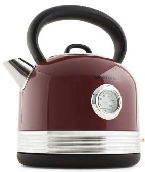 Чайник электрический KITFORT КТ-634-2 2150 Вт красный 1.7 л нержавеющая сталь чайник электрический kitfort кт 634 3 2150 вт бежевый 1 7 л пластик