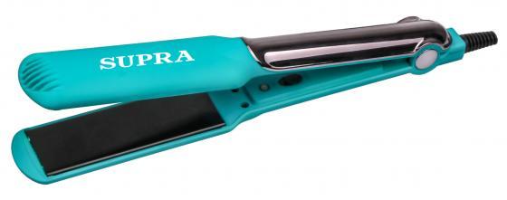 Выпрямитель Supra HSS-1224S 30Вт бирюзовый (макс.темп.:200С) выпрямитель для волос supra hss 1224s фиолетовый