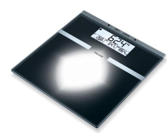 Фото - Весы напольные Beurer BG21 чёрный весы напольные scarlett sc bs33e088 темно красный