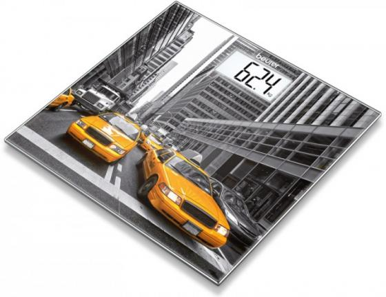 лучшая цена Весы напольные Beurer GS203 New York рисунок