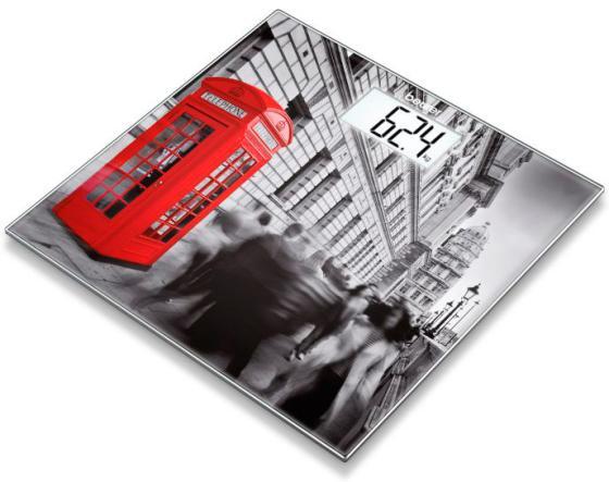 Весы напольные Beurer GS203 London рисунок