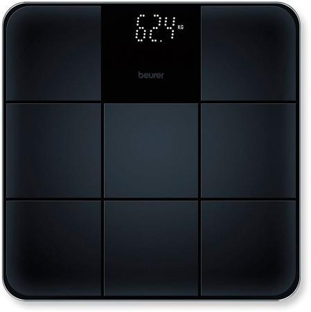 Фото - Весы напольные Beurer GS235 чёрный весы напольные scarlett sc bs33e088 темно красный