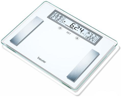 Весы напольные Beurer BG51 XXL белый