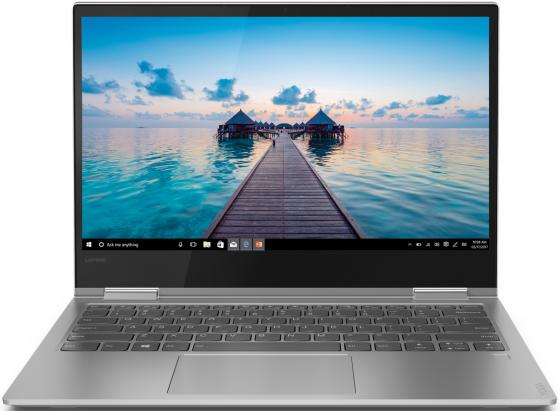 Трансформер Lenovo Yoga 730-13IWL Core i5 8265U/8Gb/SSD256Gb/UMA/13.3/IPS/Touch/FHD (1920x1080)/Windows 10/grey/WiFi/BT/Cam ультрабук трансформер lenovo ideapad yoga 900s 12isk core m5 6y54 8gb ssd256gb intel hd graphics 515 12 5 ips touch qhd 2560x1440 windows 10 home 64 gold wifi bt cam