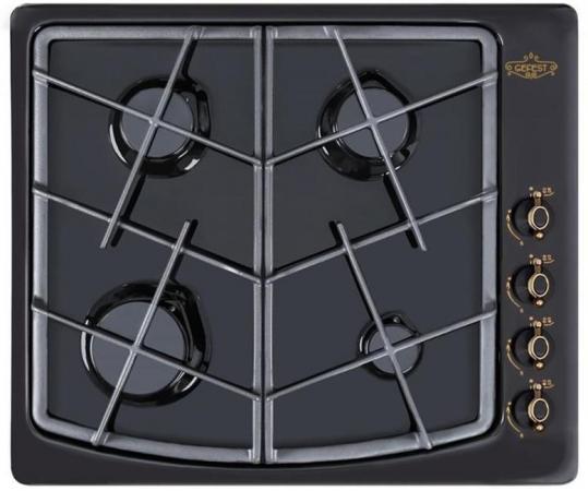 Варочная панель газовая Gefest СГ СН 1211 К83 черный цена и фото