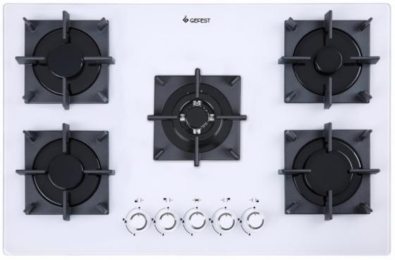 Варочная панель газовая Gefest СГ СН 2340 К32 белый цена и фото