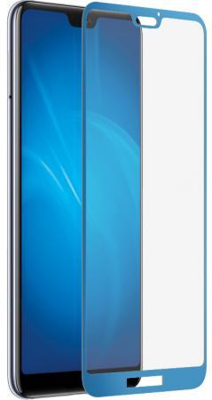 Закаленное стекло 3D с цветной рамкой (fullscreen) для Huawei P20 Lite DF hwColor-63 (blue) закаленное стекло с цветной рамкой fullscreen для sony xperia xzs df xcolor 09 blue