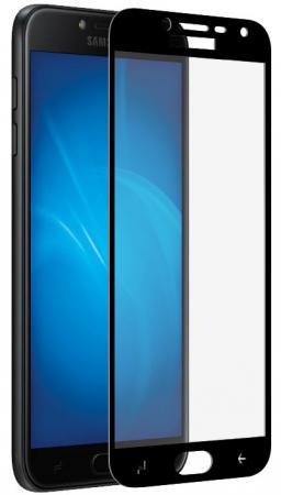 Фото - Закаленное стекло с цветной рамкой (fullscreen + fullglue) для Samsung Galaxy J4 (2018) DF sColor-42 (black) samsung galaxy tab e sm t561 black