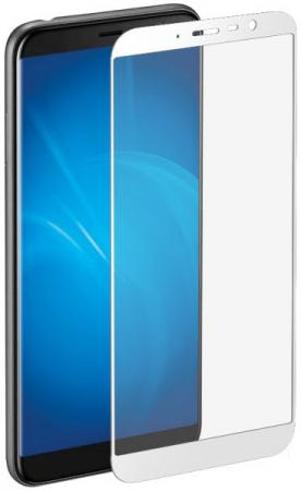 Закаленное стекло с цветной рамкой (fullscreen) для Meizu M6T DF mzColor-23 (white) new touch screen for 7 supra m72kg prestigio multipad wize 3047 3037 3g 3038 touch panel digitizer glass sensor free ship