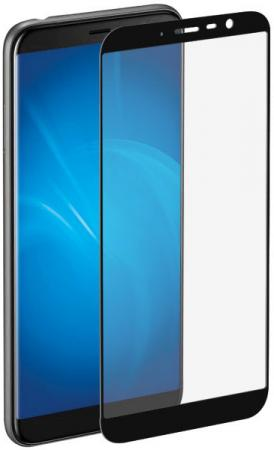 Закаленное стекло с цветной рамкой (fullscreen) для Meizu M6T DF mzColor-23 (black) цена и фото