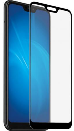 Закаленное стекло с цветной рамкой (fullscreen) для Xiaomi Redmi Note 6 DF xiColor-41 (black) закаленное стекло с цветной рамкой fullscreen для xiaomi redmi note 4 df xicolor 01 gold