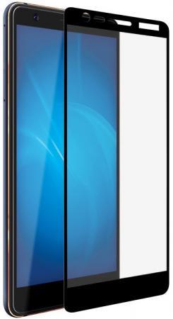 Закаленное стекло с цветной рамкой (fullscreen) для Nokia 3.1 (2018) DF nkColor-10 (black) защитное стекло для экрана df nkcolor 16 для nokia 5 1 1 шт черный [df nkcolor 16 black ]