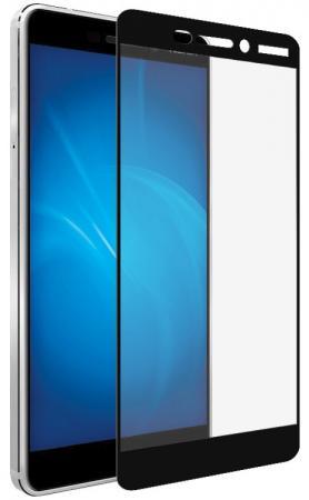Закаленное стекло с цветной рамкой (fullscreen) для Nokia 6.1 (2018) DF nkColor-09 (black) защитное стекло для экрана df nkcolor 16 для nokia 5 1 1 шт черный [df nkcolor 16 black ]