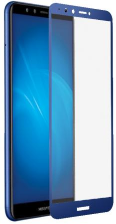 Закаленное стекло с цветной рамкой (fullscreen+fullglue) для Huawei Honor 7A Pro/Y6 (2018)/Honor 7C/Y6 Prime (2018) DF hwColor-54 (blue) good price dc12v 4ch 4 channel 7a wireless remote control switch with 4pcs transmitter 315 433mhz sku 5030