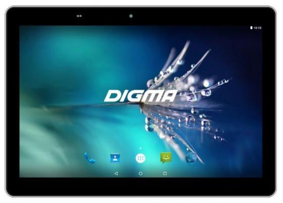 "Планшет Digma Optima 1025N 4G 10.1"" 16Gb Black LTE Wi-Fi 3G Bluetooth Android TS1190ML планшет bq 1056l exion sc9832 1gb 16gb 10 1 ips wxga wi fi bt 3g 4g lte 5 2mpx android 7 black"