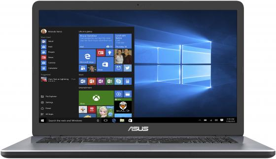 Ноутбук ASUS X705MA-BX014T 17.3 1600x900 Intel Pentium-N5000 1 Tb 4Gb Intel UHD Graphics 605 серый Windows 10 Home 90NB0IF2-M00700 ноутбук asus x705ma bx041t 90nb0if2 m00680 star grey intel pentium n5000 1 1 ghz 4096mb 500gb no odd intel hd graphics wi fi cam 17 3 1600x900 windows 10 64 bit