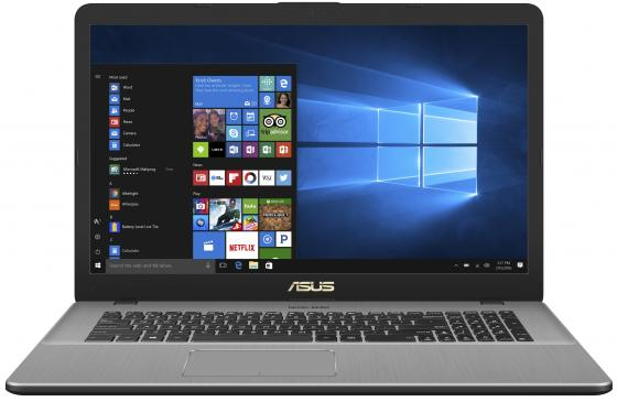 "Ноутбук ASUS VivoBook Pro 17 N705UN-GC109 17.3"" 1920x1080 Intel Core i5-8250U 1 Tb 8Gb nVidia GeForce MX150 2048 Мб серый Без ОС 90NB0GV1-M02270 цены онлайн"