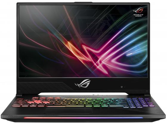 Ноутбук ASUS GL504GS-ES094T 15.6 1920x1080 Intel Core i7-8750H 1 Tb 256 Gb 16Gb Bluetooth 5.0 nVidia GeForce GTX 1070 8192 Мб серый Windows 10 Home 90NR00L1-M02450