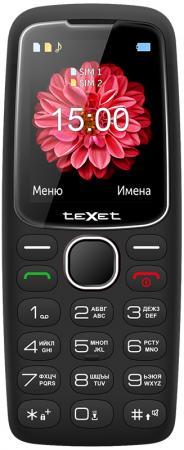 TEXET TM-B307 Мобильный телефон цвет черный телефон проводной texet tx 201 белый