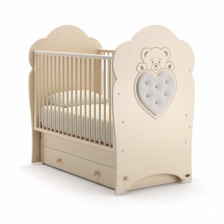 Кроватка с маятником Nuovita Fortuna Swing (avorio) кроватка с маятником sweet baby eligio avorio слоновая кость
