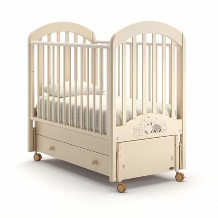 Кроватка с маятником Nuovita Grano Swing (avorio) детская кровать nuovita grano dondolo bianco белый
