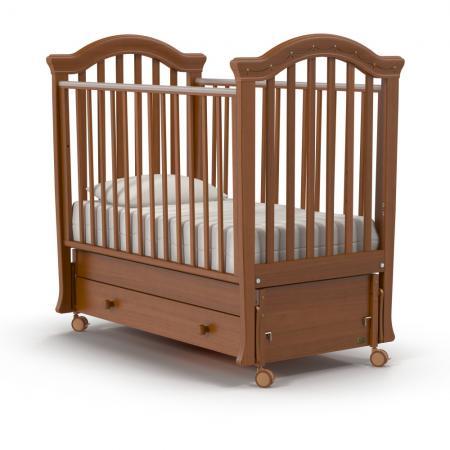 Кроватка с маятником Nuovita Perla Swing (noce scuro) сумка guess hwvg64 22150 wmt