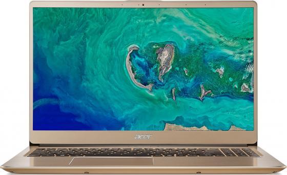 Ноутбук Acer Swift SF315-52G-55PW 15.6 1920x1080 Intel Core i5-8250U 256 Gb 8Gb nVidia GeForce MX150 2048 Мб золотистый Linux NX.GZCER.001