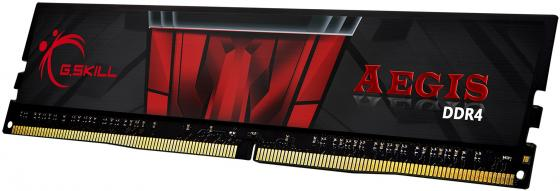 Оперативная память 4Gb (1x4Gb) PC4-19200 2400MHz DDR4 DIMM CL15 G.Skill Aegis F4-2400C15S-4GIS цена и фото