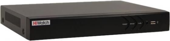 цена на Видеорегистратор HiWatch DS-N308/2 (B) 8-ми канальный IP-регистратор Видеовход: 8 IP@8Мп; Аудиовход: 1 канал RCA; Видеовыход: 1 VGA и 1 HDMI до 4К; А