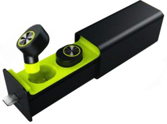 Гарнитура Qcyber QM-01-001DV01 TWS черный цена и фото