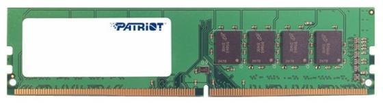 Оперативная память 4Gb (1x4Gb) PC4-21300 2666MHz DDR4 DIMM CL19 Patriot Signature Line PSD44G266682 оперативная память 4gb 1x4gb pc4 21300 2666mhz ddr4 dimm cl19 transcend jm2666hlh 4g