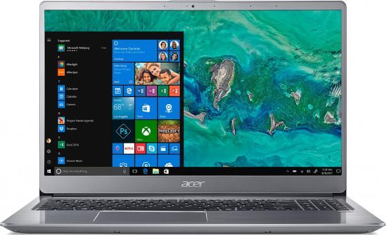 Ультрабук Acer Swift 3 SF315-52G-84XV 15.6 3840x2160 Intel Core i7-8550U 1 Tb 256 Gb 16Gb nVidia GeForce MX150 2048 Мб серебристый Endless OS NX.H39ER.001 ультрабук acer swift 3 sf315 52g 52b4 nx gzcer 002